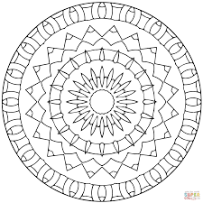 star mandalas coloring pages free coloring pages