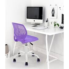 Office Table Chair by Amazon Com Purple Office Task Adjustable Desk Chair Mid Back