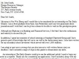 journalism cover letter journalism cover letter examples