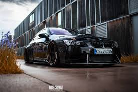 bmw m3 stanced bmw m3 e93 stanced on gold avant garde rims with polished lips