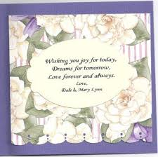 words for anniversary cards words for a 50th wedding anniversary card we like design