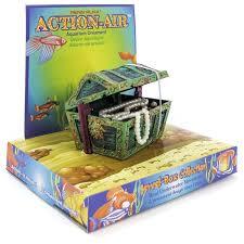 penn plax penn plax air mini treasure chest aerating