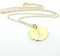gold monogram initial necklace gold initial pendant gold r initial pendant buy this solid