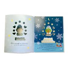 the twelve days of a peek through picture book