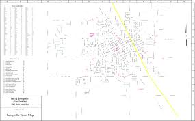 Road Map Of Illinois by City Street Map U2013 City Of Jerseyville
