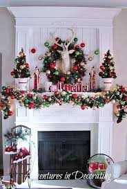 Pinterest Christmas Mantels Decorating Ideas Beautiful Decoration Fireplace Christmas Holiday Fireplace Mantel