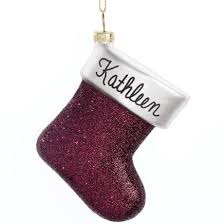 birthstone ornament personalized birthstone ornament kimball