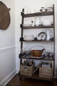 Floating Shelves In The Dining Room Wine Glass Storage Buffet - Floating shelves in dining room