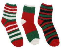 fuzzy christmas socks ho ho ho women s cozy butter fuzzy christmas slipper socks 3 pr