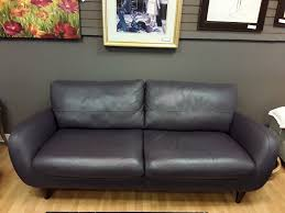 Plum Leather Sofa Kaboodle Home Gallery Upscale Furniture Consignment Shop In