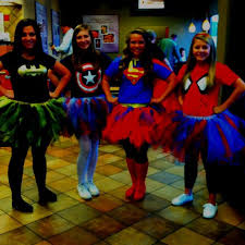 Female Superhero Costume Ideas Halloween 25 Superhero Tutu Costumes Ideas Diy