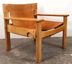 Modern Wood Chair Furniture Leather And Wood Spanish Style Chairs Saddle Leather Saddle