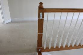 installing a baby gate without drilling into a banister insourcelife