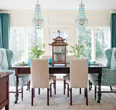 edmonton damask dining chairs room traditional with home re design