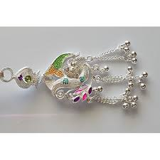 jewelry key rings images Buy silver colored saree challa waist keyring key chain online jpg