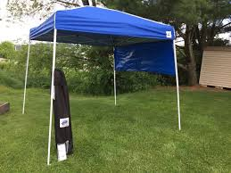 Quest Pop Up Canopy by How To Anchor An E Z Up Canopy Ebay