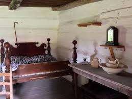 inside one of the slave cabins at president andrew jackson u0027s