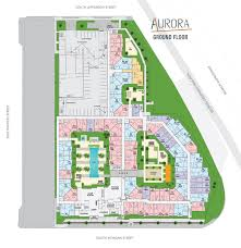 Site Floor Plan by Richman Signature Aurora Richman Signature