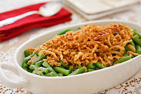 vegan green bean casserole vegetable bandits
