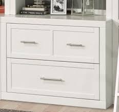 White Lateral File Cabinet 40 Inch Lateral File In Cottage White Finish By House Cat