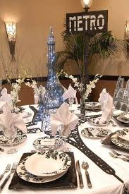 paris theme centerpieces paris quinceanera theme silver
