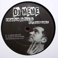 Meme Dj - dj meme feat gavin bradley chanson du soleil vinyl at discogs