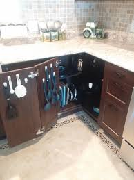 Kitchen Corner Cabinet Maximising The Kitchen Corner Cabinet