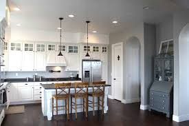 Kitchens With Black Countertops with Kitchen Glamorous Ikea Kitchen With White Cabinets And Hardwood