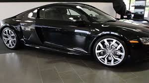 Audi R8 Blacked Out - 2010 audi r8 5 2l v10 metallic black l0548 youtube