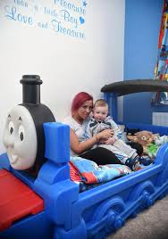 Thomas The Tank Engine Bed Mum Calls In Ghostbusters After Claiming A Spirit Entered Her
