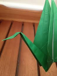 How To Make A Paper Beak - how to make an origami peace crane snapguide