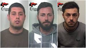 rapina in salemi sventata una rapina in arrestati tre giovani