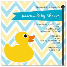 duck baby shower invitations rubber duck baby shower invitations for the best start of baby
