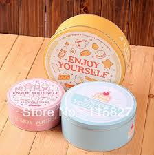 where to buy cookie tins free shipping 3pcs lot new arrival cake design storage
