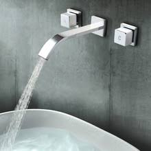 Bathroom Waterfall Faucet by Popular Widespread Waterfall Faucet Buy Cheap Widespread Waterfall
