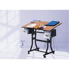 Martin Drafting Table Martin Universal Design U Ds90b Creation Station Melamine Drafting