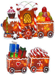 Christmas Train Decoration Outdoors by Blog We Be Christmas