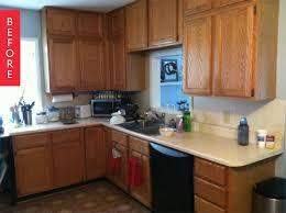 cheap kitchen makeover ideas before and after stunning apartment kitchen makeover pictures liltigertoo