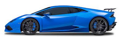 cars lamborghini blue lamborghini huracan side view png clipart download free images