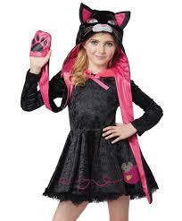 Kids Cat Halloween Costume Cute Cat Girls Halloween Costume Kitten Suit Animal Kids Fancy