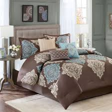 King Comforter Sets Cheap Bedroom Comforter Sets King With Table Lamp And Gold Pillows Also