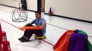 teachphysed volcano island youtube physical education games