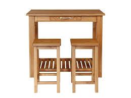 Oak Breakfast Bar Table Dewsbury Solid Oak Breakfast Bar Table U0026 2 Bar Stools