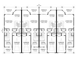 Luxury Townhomes Floor Plans Plan No 594009 House Plans By Westhomeplanners Com Plans Rf5