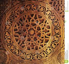 ornament on wooden door royalty free stock photos image 20889808