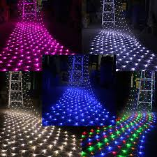 curtain net lights decorate the house with beautiful