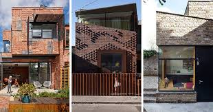 moden houses 14 modern houses made of brick contemporist