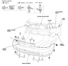 honda accord bumper replacement cost how do i remove the front bumper my 2001 honda accord