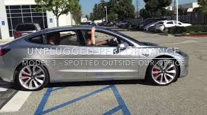 tesla model 3 alpha prototype spotted cruising in hawthorne ca