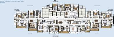 1265 sq ft 2 bhk 2t apartment for sale in raheja universal exotica